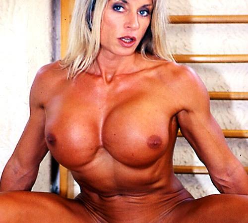 Nude Female Bodybuilder Francesca Petitjean-8048