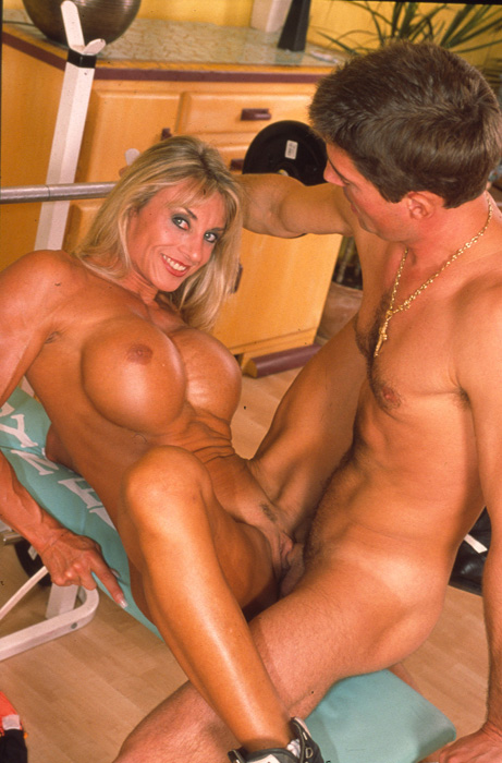 Female body builder pornstar sex