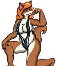 Furry Female Muscle Picture