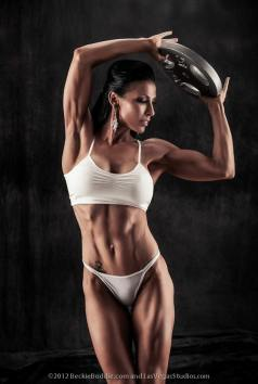 Female Bodybuilder Beckie Boddie Picture
