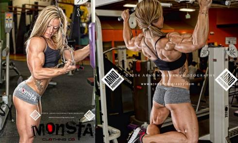 Female Bodybuilder Danielle Reardon Picture