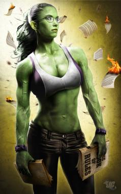 She Hulk Illustrated Picture