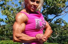 Female Muscle Picture