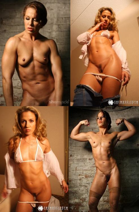 Porn Star Muscle Girl Picture
