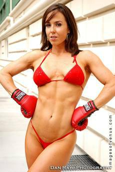 NPC figure athlete Catherine Boshern Picture