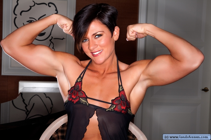 Female bodybuilder allison moyer nude this rather