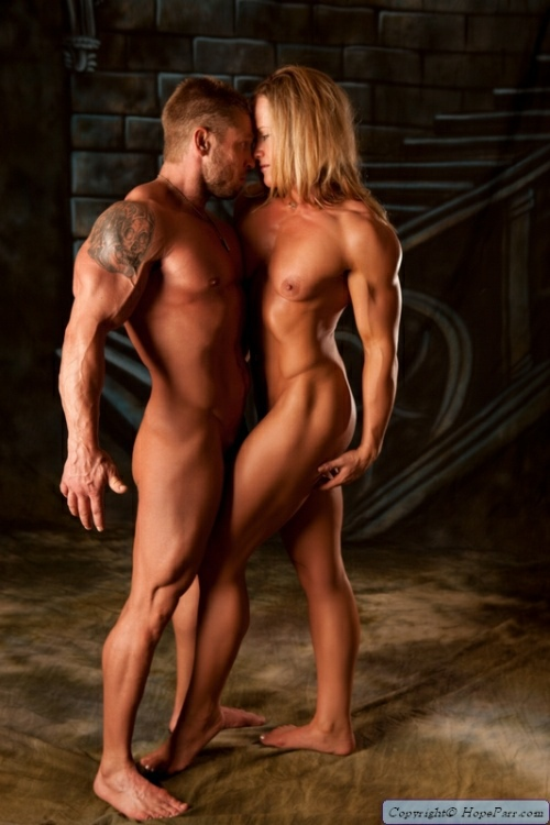 Muscle Boy & Girl Picture