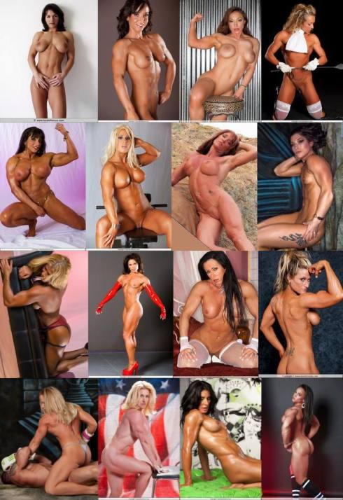 Naked Female Bodybuilder Picture