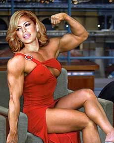 Eva Mendes Muscle Morph Picture