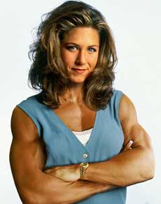 Jennifer Aniston Muscle Morph Picture