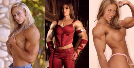 Muscle Girl Morphs Gallery