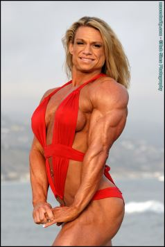 Female Bodybuilder Tina Chandler Picture