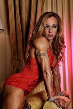 Female Bodybuilder Ginevra Auletta Picture