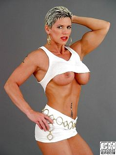 Female Bodybuilder Goddess Heather Picture