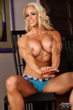 Nude Female Bodybuilder Jill Rudison Picture
