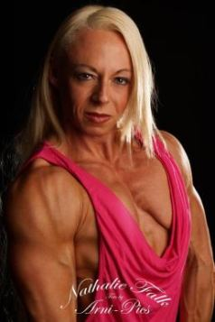 Female Bodybuilder Nathalie Falk Picture