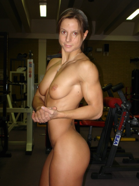 Nude Female Bodybuilder Sarah de herdt Picture