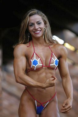 Girl Fitness Model Picture