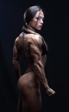 Female Bodybuilder Oksana Grishna Picture