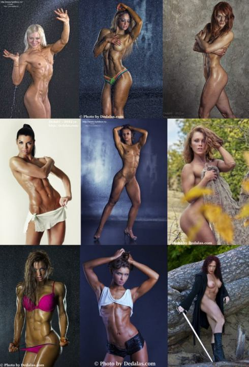 Russian Female Bodybuilder Picture