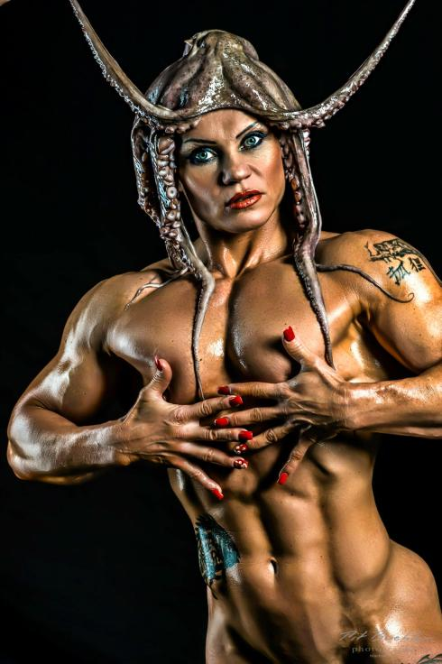 Female Bodybuilder Jacqueline Fuchs Picture