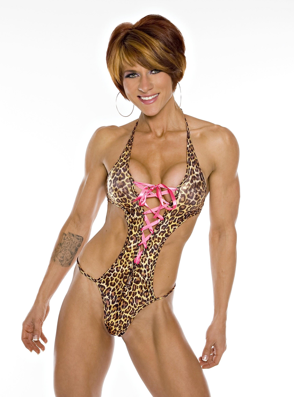 Muscle Girl Allison Moyer