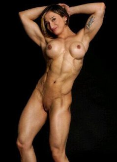 Nude Muscle Girl Karyn Bayres Picture