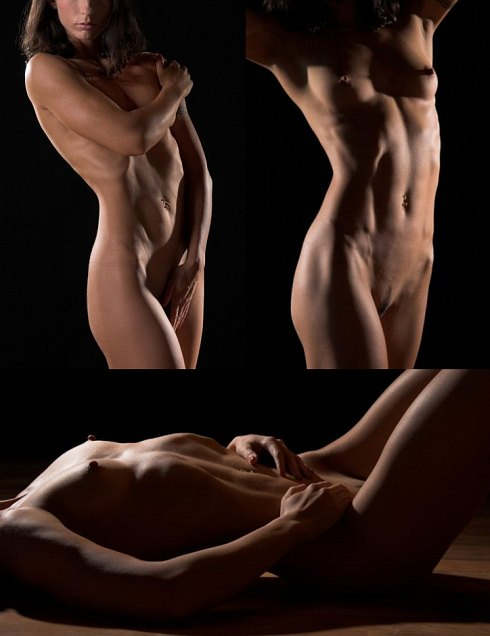 Nude Muscle Babe Picture Some Equisite Imagery Of The Multi Talented