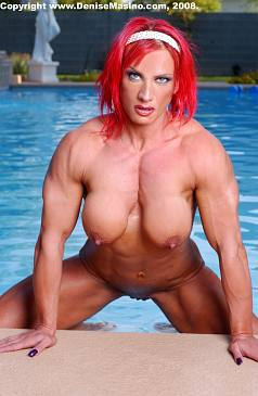 Nude Female Bodybuilder Nicole Savage Picture
