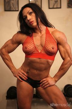 Nude Female Bodybuilder Ripped Vixen Picture