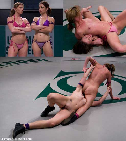 Nude Female Wrestlers Picture