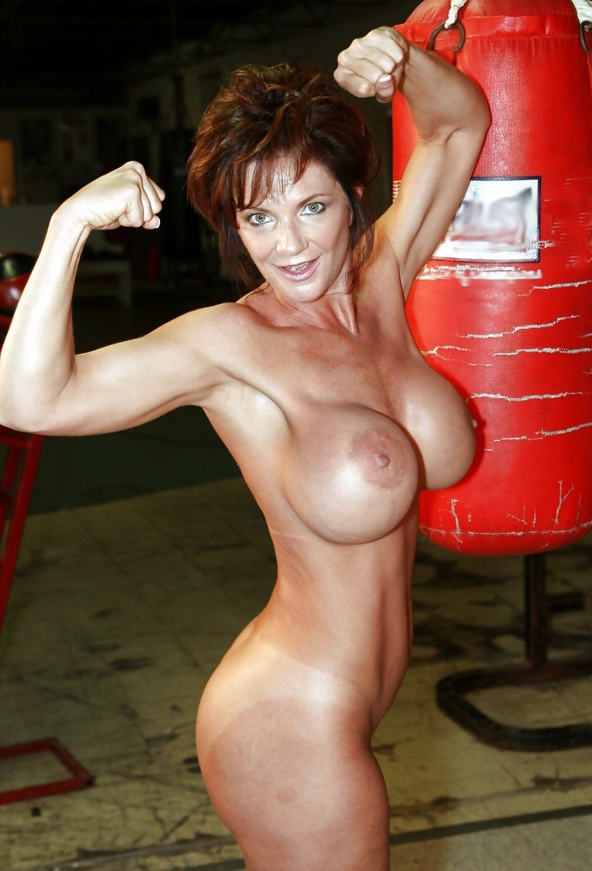 Mature female bodybuilder porn