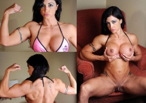 Worked her bodybuilder female pornstar ol&#039