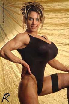 Muscle Girl Art