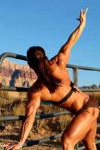 Female Bodybuilder Roxie Rain Picture
