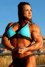 Female Bodybuilder Roxie Rain Picture