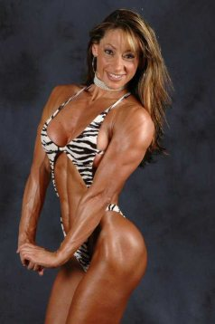 Female Bodybuilder Cristiana Casoni Picture