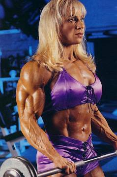 Female Bodybuilder Kim Chizevsky Picture