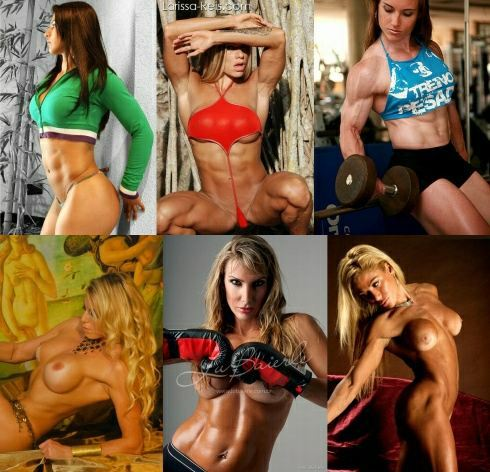Muscle Girls Photograph