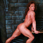 Sexy Muscle Girl Picture