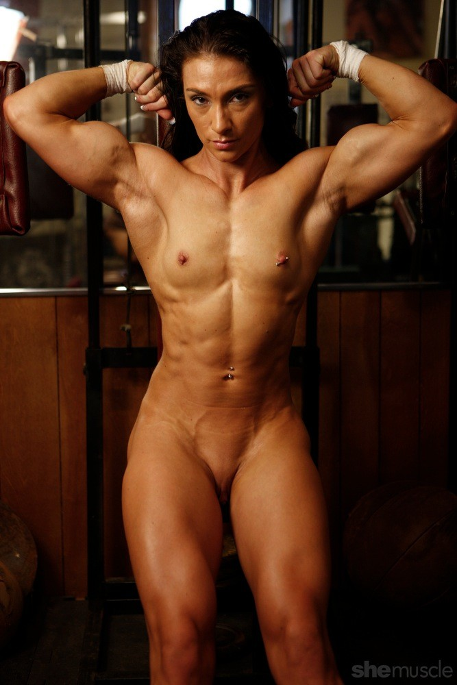 Canadian women muscle nude commit error