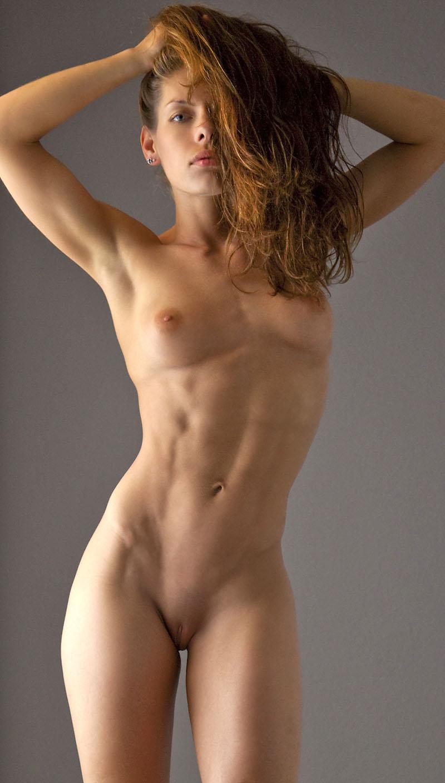 supper skinny nude girls