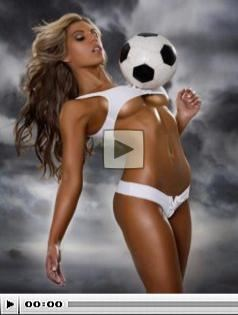 Hot Girls playing soccer Picture