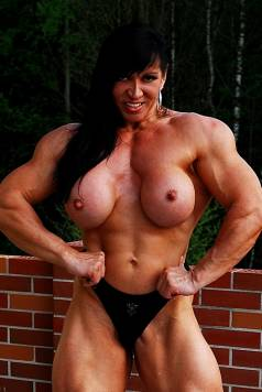 Nude Female Muscle Beauty Picture
