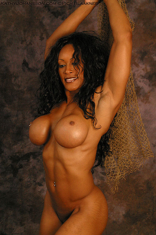 Hot nude muscular milf #1