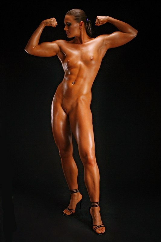 oiled naked muscle girls