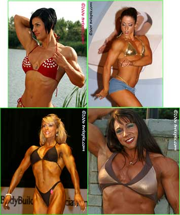 Female Bodybuilds and Fitness Girls Photographs