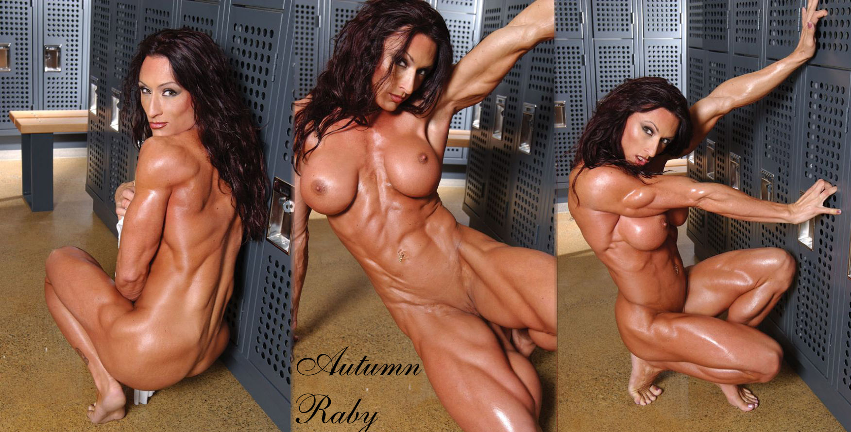 muscle female amateur naked