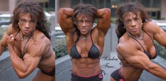 Female Bodybuilder Sandra Faas Picture