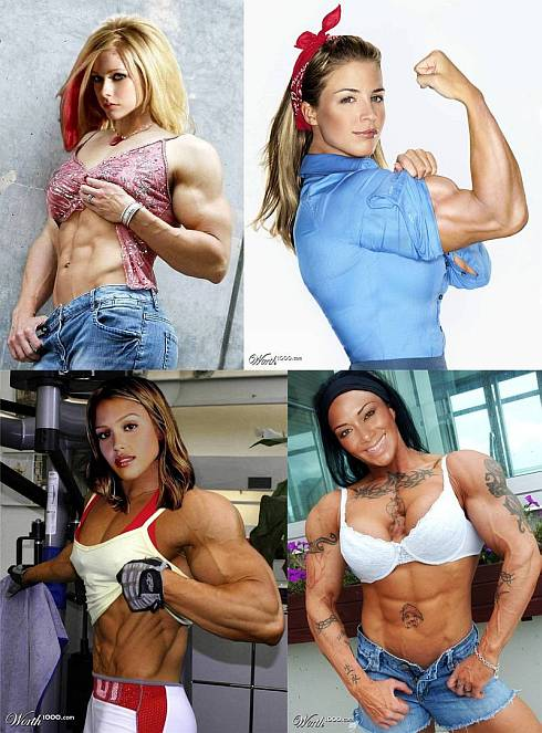 Celebrity Muscle Morph Picture